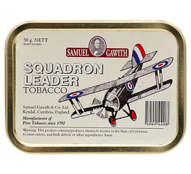 Fumo para Cachimbo Samuel Gawith Squadron Leader - Lata (50g)