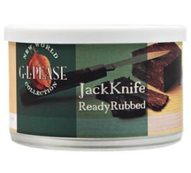Fumo para Cachimbo G. L. Pease JackKnife Ready Rubbed - Lata (50g)