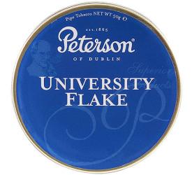 Fumo para Cachimbo Peterson University Flake - Lata (50g)
