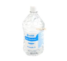 Agua Destilada Asfer - 1 Litro
