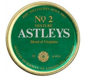 Fumo para Cachimbo Astleys Blend Of Virginia Nº 2 - Lata (50g)
