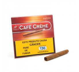 Cigarrilha Cafe Creme Arome - Caixa com 10
