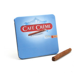 Cigarrilha Cafe Creme Blue - Lata com 10