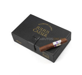 Charuto Diamond Crown Julius Caesar Robusto - Caixa com 20