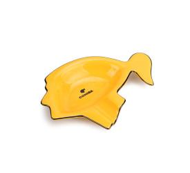 Cinzeiro de Ceramica para Charuto Cohiba - Amarelo