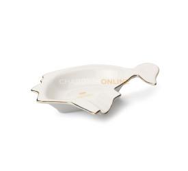 Cinzeiro de Ceramica para Charuto Cohiba - Branco