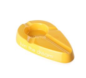 Cinzeiro para Charuto Xikar Livin The Dream - Amarelo