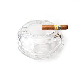 Cinzeiro Cristal di Murano By Thomas Ziemer TNA01 - Transparente
