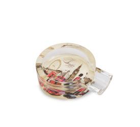 Cinzeiro de Vidro para Charuto - (Estampa Sortida)