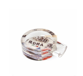 Cinzeiro de Vidro para Charuto - Itália (Estampa Sortida)