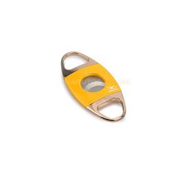 Cortador de Charutos em Metal Cohiba 50 anos - Amarelo e Dourado