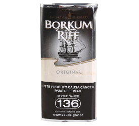 Fumo para Cachimbo Borkum Riff Original - Pacote (50g)