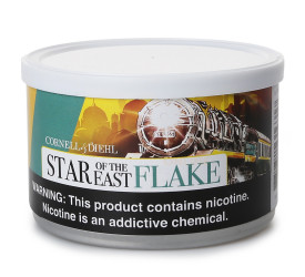 Fumo para Cachimbo Cornell & Diehl Star of the East Flake - Lata (50g)