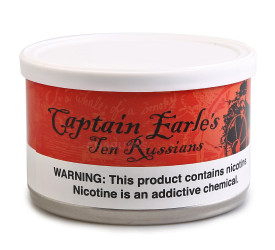 Fumo para Cachimbo Hermit Captain Earles Blend Ten Russians - Lata (50g)