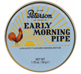 Fumo para Cachimbo Peterson Early Morning - Lata (50g)