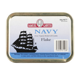 Fumo para Cachimbo Samuel Gawith Navy Flake - Lata (50g)