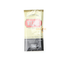 Fumo para Cachimbo Wilder Bege Tradicional 45G Un.