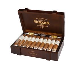 Charuto Gurkha Cellar Reserve 21 Anos Solara Double Robusto - Caixa com 20