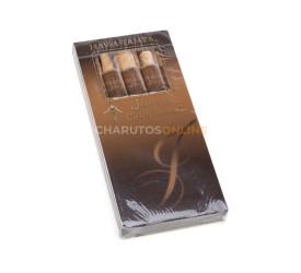 Cigarrilha Hav A Tampa Jewels Chocolate - Petaca com 5