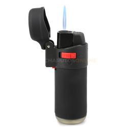 Isqueiro Maçarico Flame Jet Zengaz - Preto (1 chama)