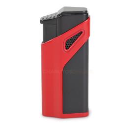 Isqueiro Maçarico Jobon ZB981 (3 Chamas com Furador) - Vermelho