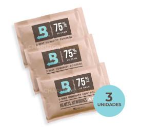 Boveda 75% (60g) - Kit com 3