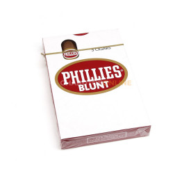 Charuto Phillies Blunt Regular - Petaca com 5