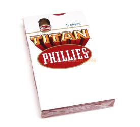 Charuto Phillies Titan - Petaca com 5