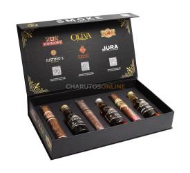 Kit Smoke Experience by Cesar Adames (3 Charutos e 3 Bebidas)