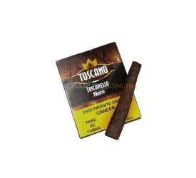 Charuto Toscano Toscanello Nero (Chocolate) - Petaca com 5